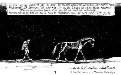 Aurélie Tièche «Il était une fois l'univers»